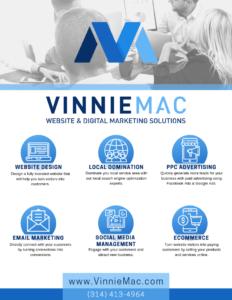 Vinnie Mac Website and Digital Marketing Solutions