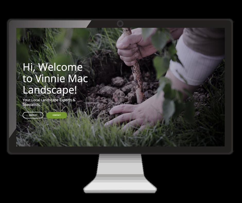 Landscaping Website Design Vinnie Mac Digital Marketing Glen Carbon IL