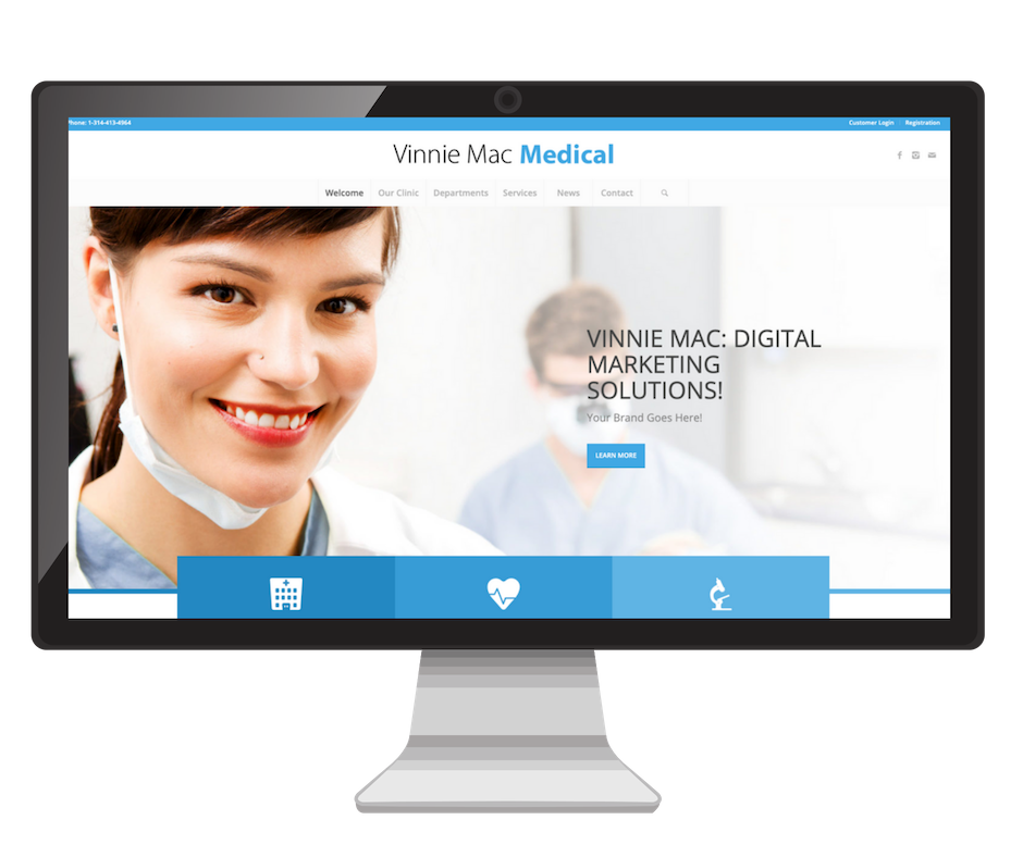Medical Website Design Vinnie Mac Digital Marketing Glen Carbon IL