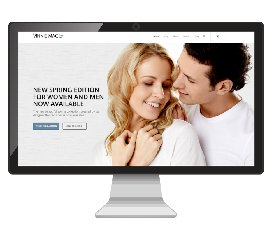 Ecommerce Website Design Vinnie Mac Digital Marketing Glen Carbon IL