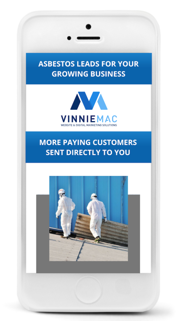 Asbestos Leads Vinnie Mac Digital Marketing